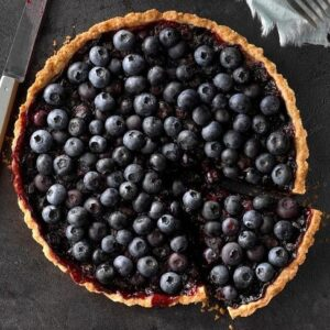 DESSERT - blueberry tarte