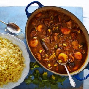 THURSDAY SPECIAL - Lamb tagine with mediterranean style cous cous